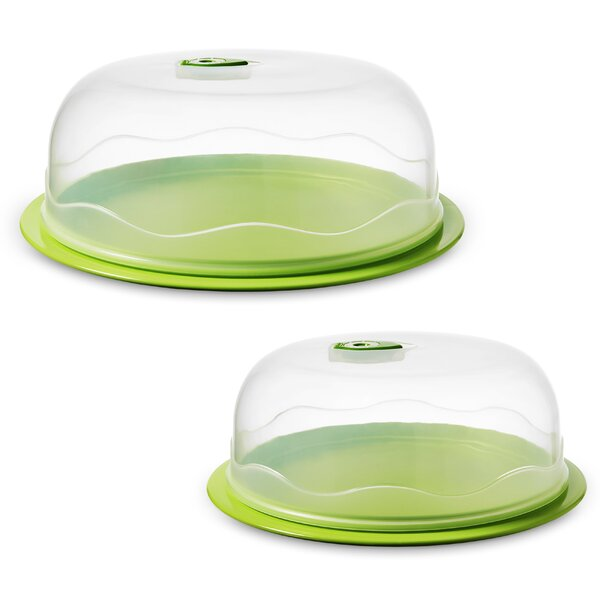 Instavac Ready Serve 2 Container Food Storage Set by Ozeri