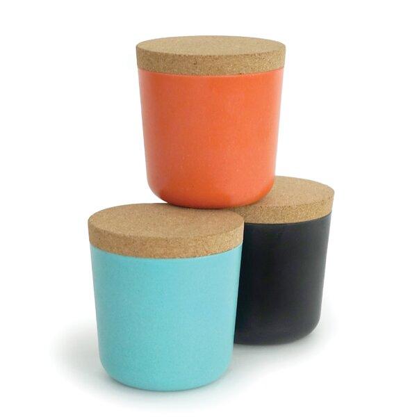 0.25 qt. Storage Jars Set (Set of 3) by Langley Street