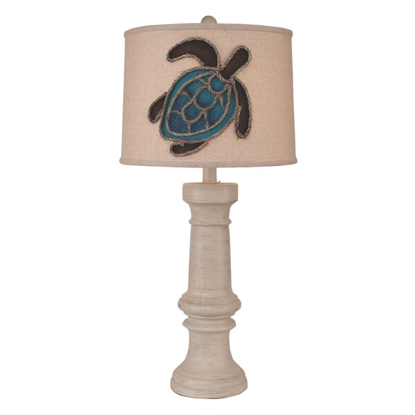 Pissouri Chunky Casual Pot 31 Table Lamp by Bay Isle Home