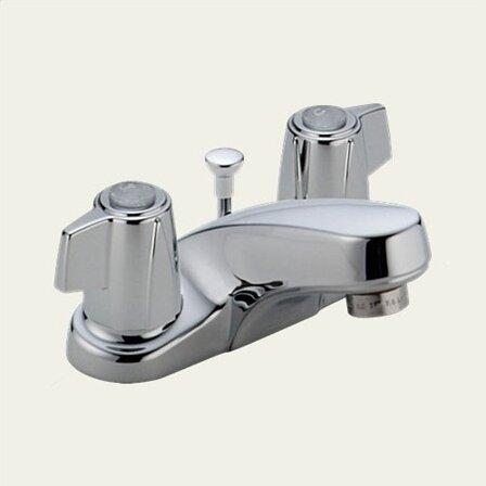 Classic Centerset Bathroom Faucet By Delta