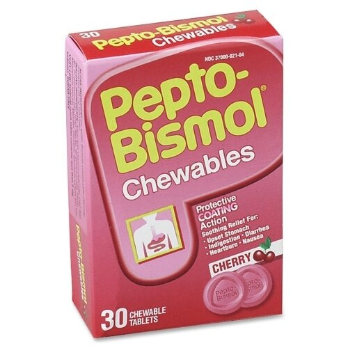 Pepto-Bismol Tablet (30 Per Box) by Acme United Corporation