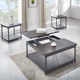 Prescott 3 Piece Coffee Table Set by Latitude Run