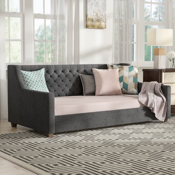 Pihu Upholstered Daybed by Willa Arlo Interiors