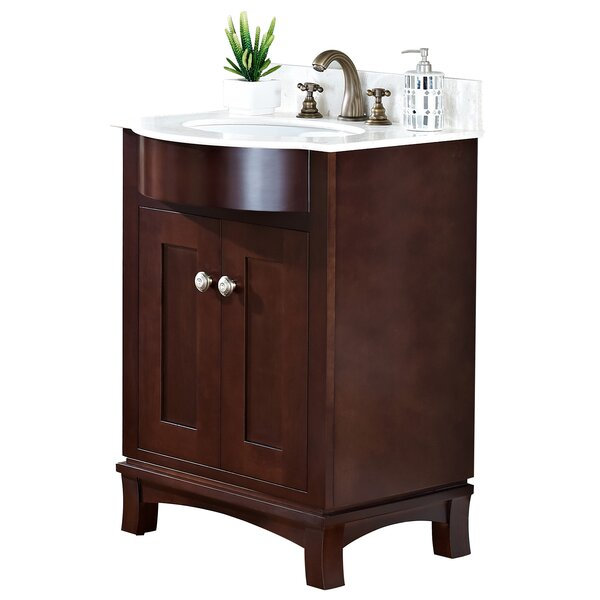 24 Single Transitional Bathroom Vanity Set by American Imaginations