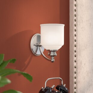 Reviews Genevieve 1-Light Wall Sconce By Charlton Home