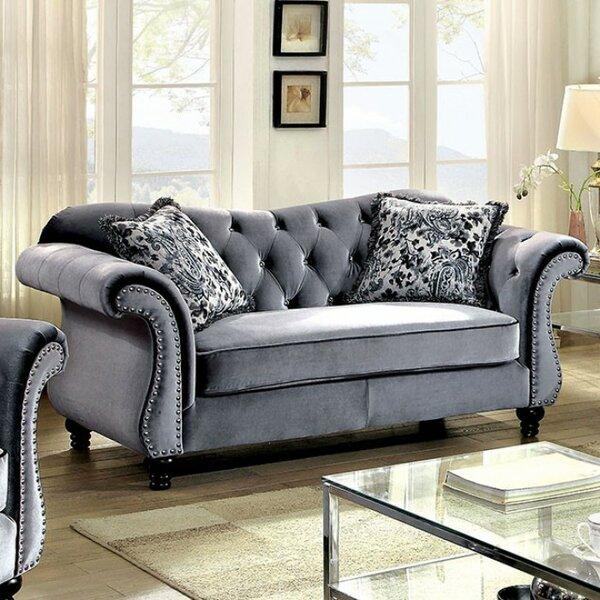 Check Out Our Selection Of New Humansville Loveseat by Rosdorf Park by Rosdorf Park