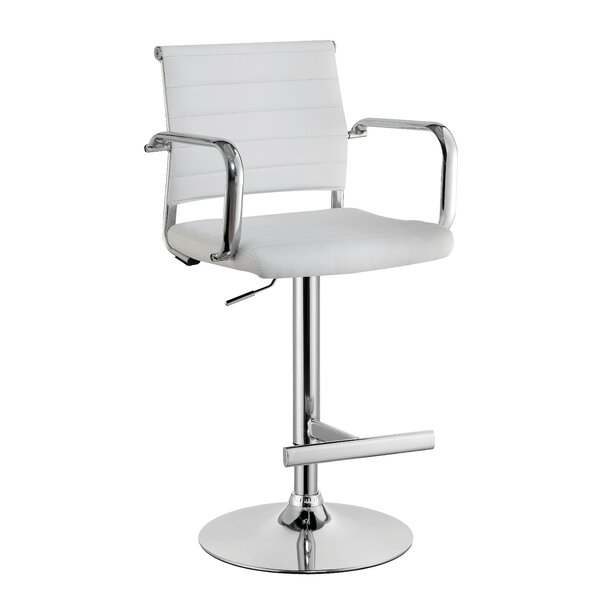 Northpoint Adjustable Height Bar Stool by Orren Ellis