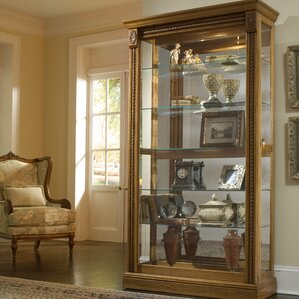 kitchen china cabinet. Dunstaffnage Lighted Curio Cabinet Display Cabinets You ll Love  Wayfair