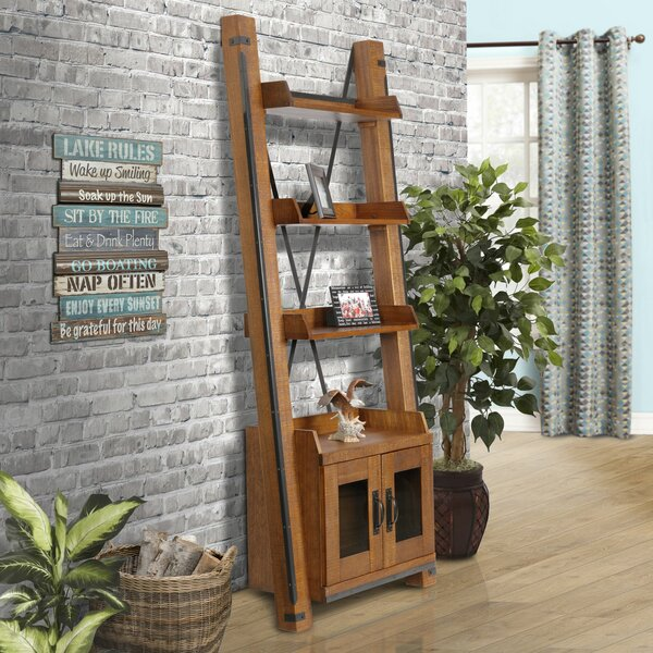 Chestertown Ladder Bookcase by 17 Stories