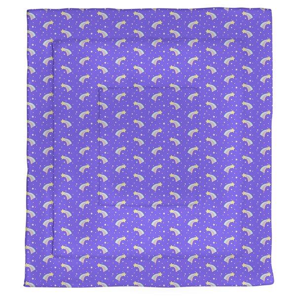 Avicia Shooting Stars Pattern Single Reversible Comforter