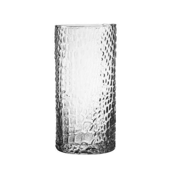 Bistro Croc Glass Highball Glass (Set of 4) by Elle Decor