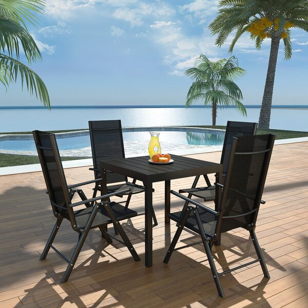 Jallet 5 Piece Dining Set by Latitude Run