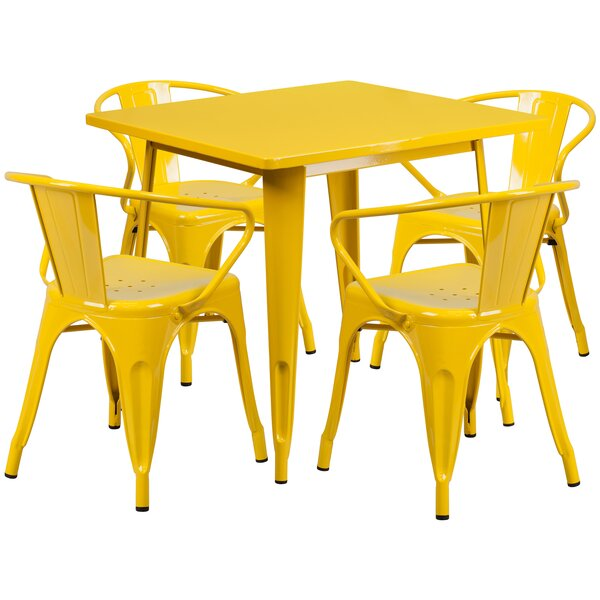 Rossiter 5 Piece Dining Set by 17 Stories 17 Stories