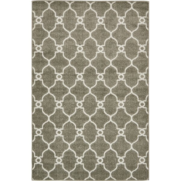 Garris Brown Indoor/Outdoor Area Rug by Charlton Home