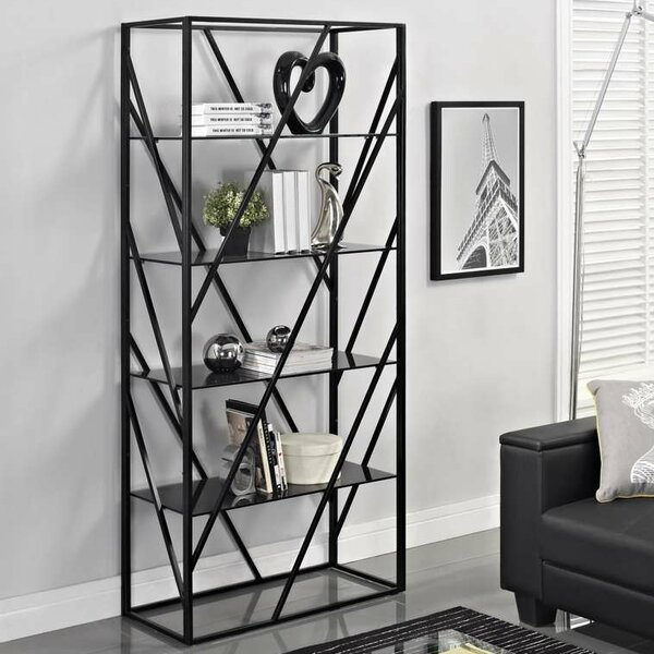 Electra Divider Etagere Bookcase by Creative Furniture