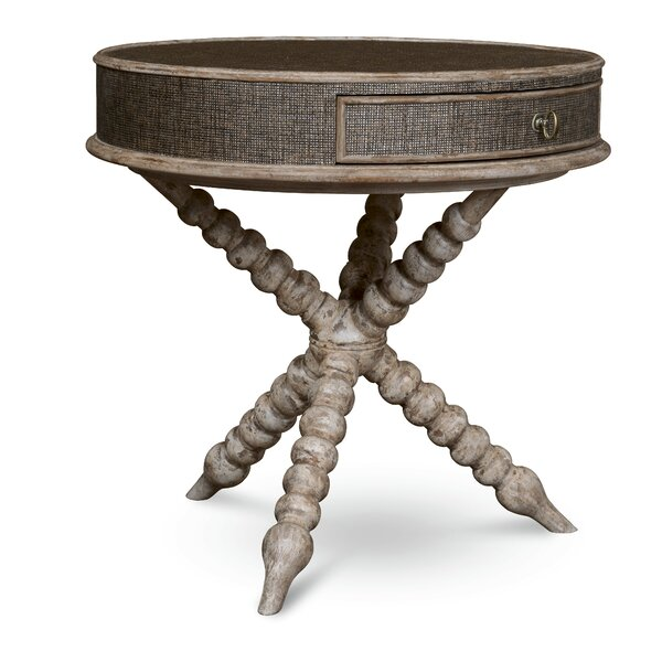 Akdeniz End Table by Bay Isle Home