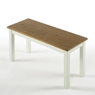 Pfarr Solid Wood Bench