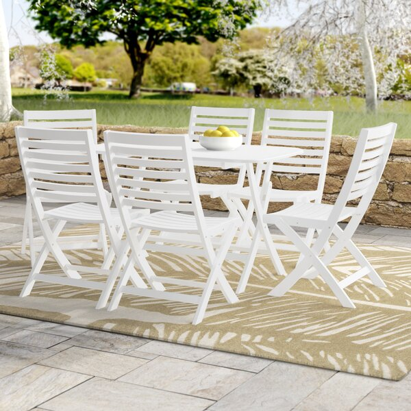 Bristol 7 Piece Dining Set by Beachcrest Home