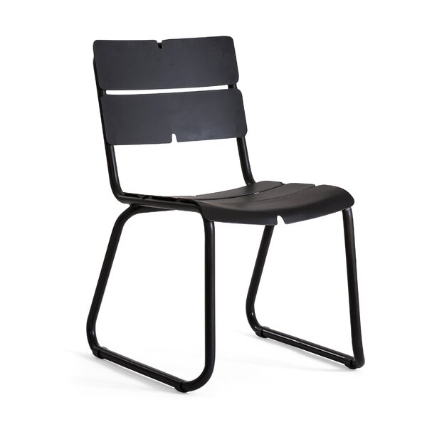 Corail Stacking Patio Dining Chair with Cushion by OASIQ