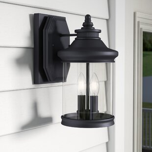Compare Justine 2-Light Outdoor Wall Lantern By Laurel Foundry Modern Farmhouse