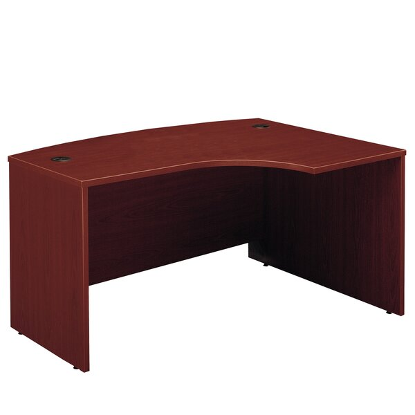 Series C Right Bow Corner Desk Shell by Bush Business Furniture