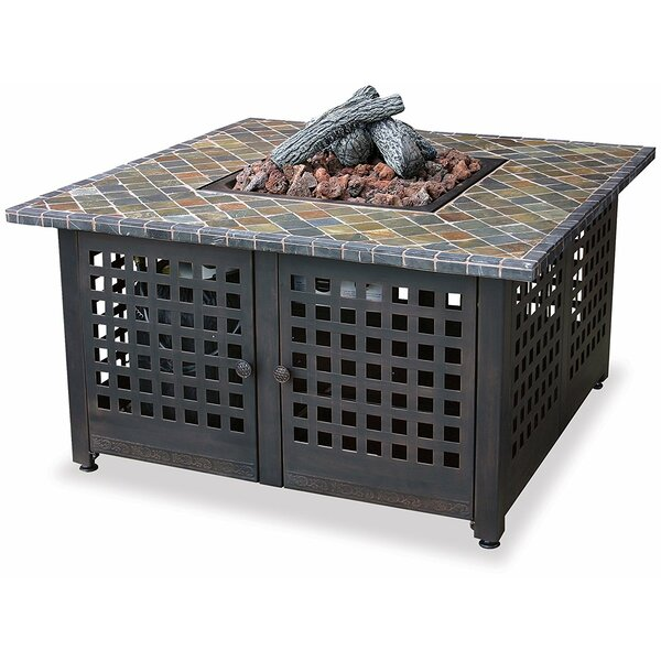99LP Cast Iron Propane Fire Pit Table by Uniflame Corporation