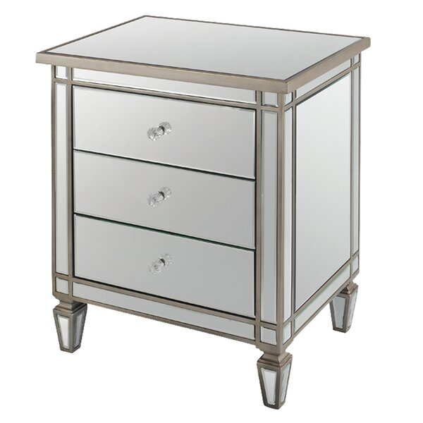 Pyle 2 Drawer Nightstand by Rosdorf Park