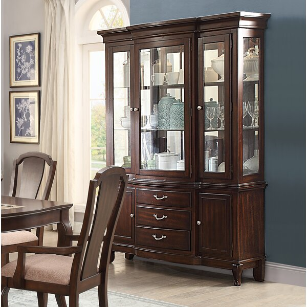 Kallas Buffet Lighted China Cabinet By Darby Home Co Find