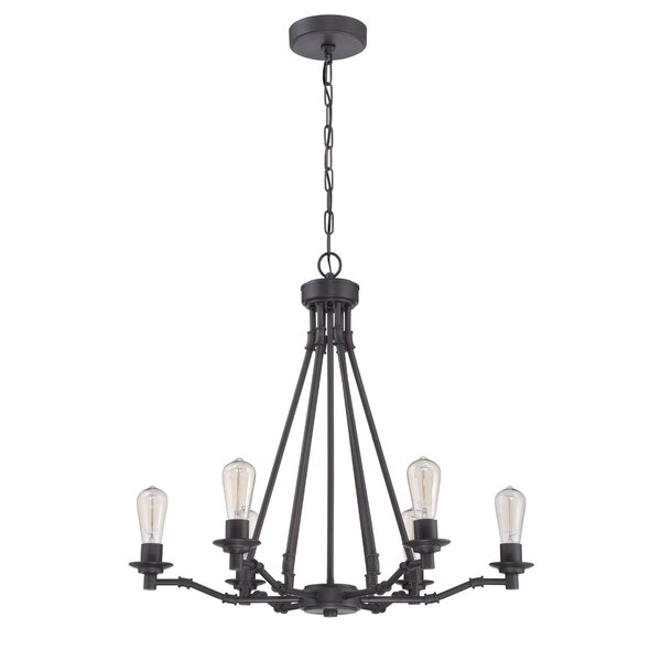 Glennon 6-Light Candle Style Classic / Traditional Chandelier By Williston Forge