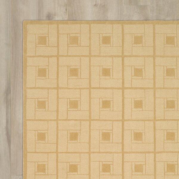 Square Knot Hand-Loomed Coarkboard Area Rug by Martha Stewart Rugs