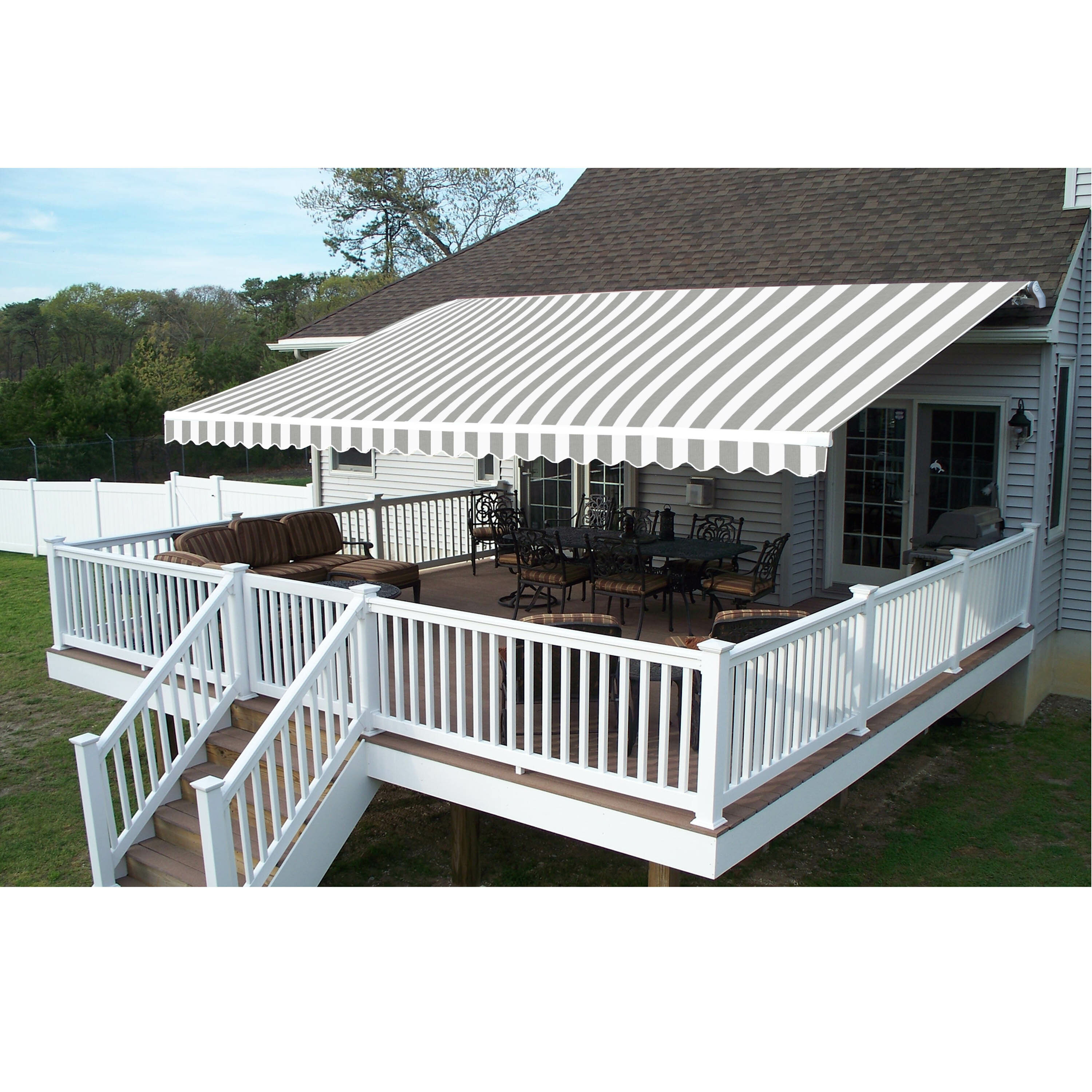 Fabric Retractable Standard Patio Awning