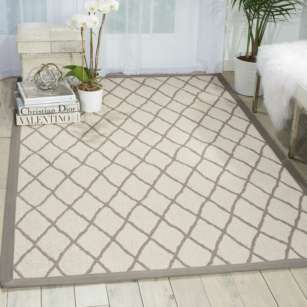 Northridge Beige Indoor/Outdoor Area Rug by Darby Home Co