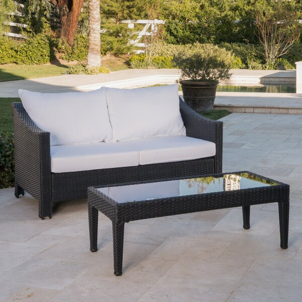 Portola 2 Piece Sofa Seating Group with Cushions by Sol 72 Outdoor