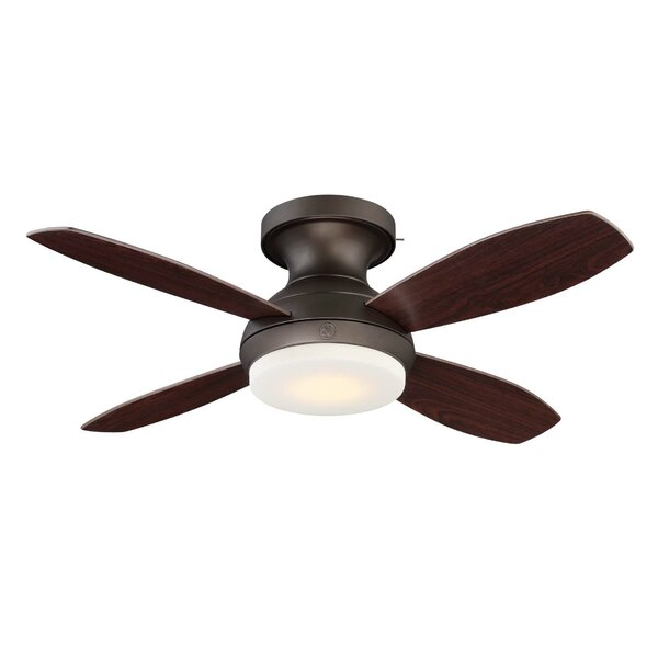 44 Skyplug Kinsey 4 Blade LED Ceiling Fan with Remote by GE Lighting
