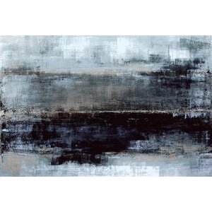 'Oceans Evening' Graphic Art Print on Wrapped Canvas by My Art Outlet