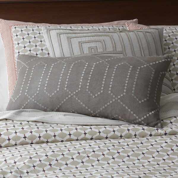 Deco Trellis Pillow by DwellStudio