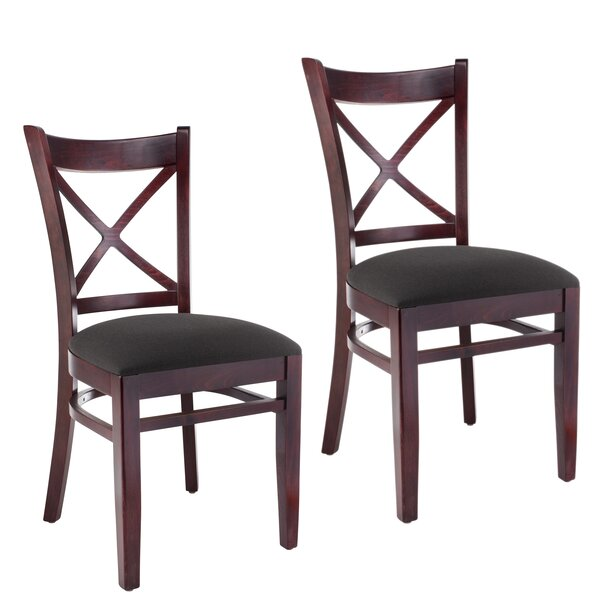 Gambrel Solid Wood Dining Chair (Set Of 2) By August Grove