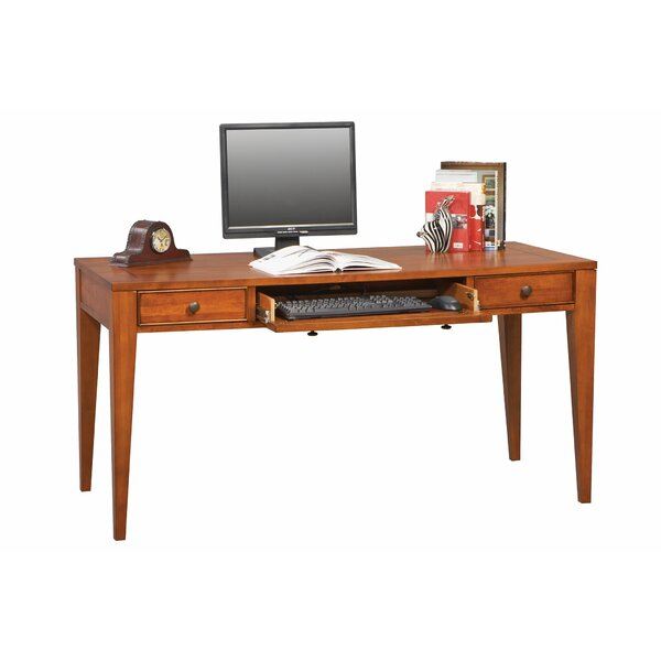 Chester Writing desk with Keyboard Tray by Alcott Hill