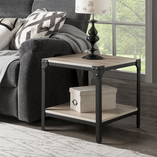 Cornelia End Table With Storage By Williston Forge