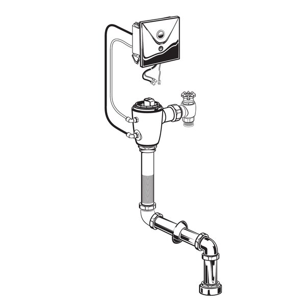 Concealed Multi-AC Flush Valve by American Standard