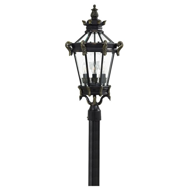 Jelinek 4 Light 28 Outdoor Post Lantern by Latitude Run