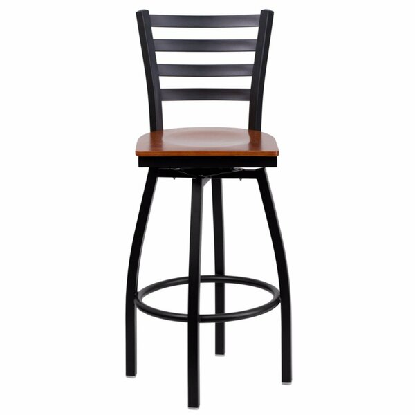 Dryden 30.25 Swivel Bar Stool by Red Barrel Studio
