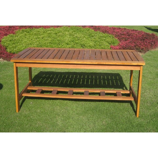 Royal Tahiti Solid Wood Coffee Table by International Caravan