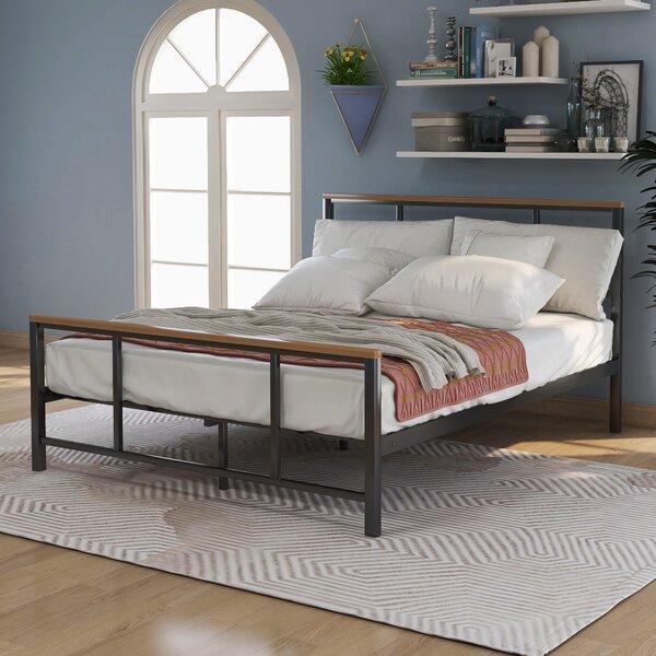 Peluso Metal Platform Bed by 17 Stories