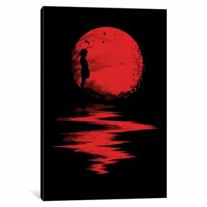 The Land Of The Rising Sun by Nicebleed Graphic Art on Wrapped Canvas by Wrought Studio