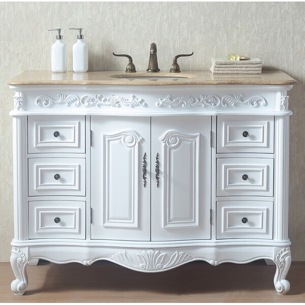 Brockington 48 Single Bathroom Vanity Set by Alcott Hill