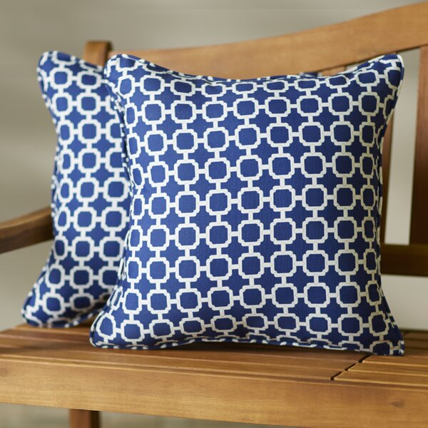 Anabella Indoor/Outdoor Throw Pillow (Set of 2) by Willa Arlo Interiors