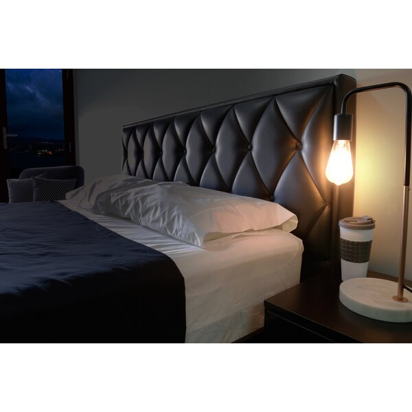 Dichiera Bedhead Queen Upholstered Panel Headboard by Mercer41