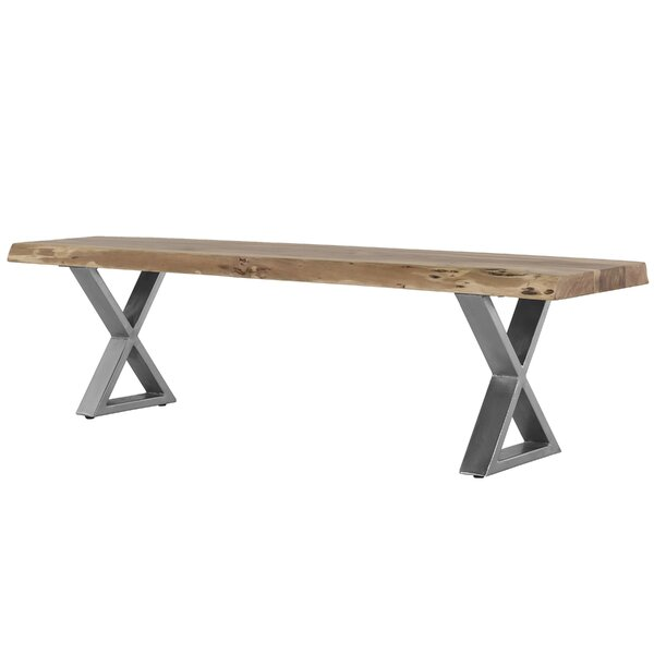 Bessemer Wood Bench by Foundry Select