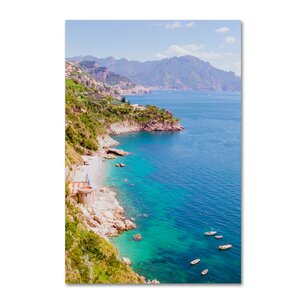 Amalfi Coast by Ariane Moshayedi Photographic Print on Wrapped Canvas by Trademark Fine Art